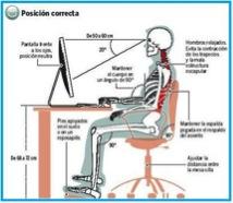 C mo sentarse correctamente grup fisioderm - Arreglar silla oficina se queda baja ...